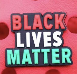 BLACK LIVES MATTER Crocs Charm
