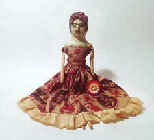 Original Freda Paper Clay GRITTY JANE Doll Signed 2012 J. Desrosier (Spakowsky)