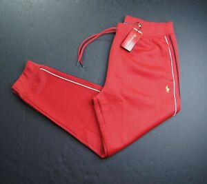 POLO RALPH LAUREN Men's Red Lunar New Year Double Knit Jogger Pants NEW NWT