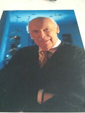 James Watson DNA Signed 8x10 Color Photo IP COA