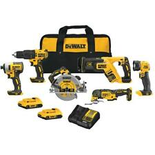 DeWALT DCK677D2 Dreamliner 20V Max Brushless 6-tool Kit