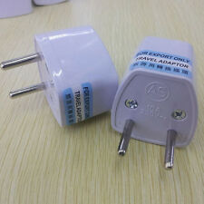 Universal UK/US/AU to EU European Travel Power Adapter Plug converter