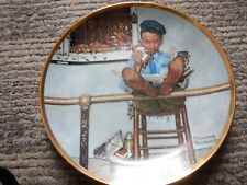 """norman rockwell """"The Zoo Keeper """"Plate"""