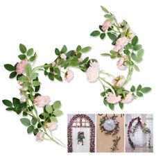 Artificial Flowers Arrangements Rose Silk Vine Garland Wedding Arch Decor