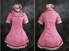 A-516n Taglia S Vocaloid MEIKO Nurse Infermiera Cosplay Costume vestito Dress Costume