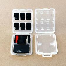 8 Slots Plastic Hard Micro SD SDHC TF MS Memory card storage box P6I9 G7N9