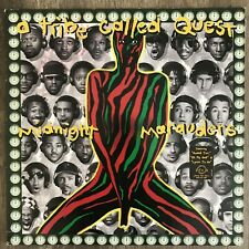 A Tribe Called Quest– Midnight Marauders 1993 rap LP ORIGINAL GREEN inner sleeve
