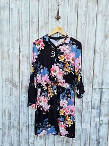 Warehouse Floral Print Shirt Dress - 12 / Was Selling At John Lewis