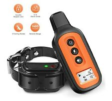 Dog Training Collar, Waterproof and Rechargeable Shock Collar for Dogs w/3.