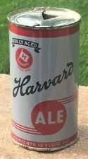 *Instructional* Super Clean Dull Harvard Ale OI Flat Top Beer Can-USBC# 80-24