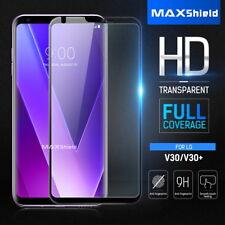 LG V30/V30+, MAXSHIELD 3D Full Coverage Tempered Glass Screen Protector