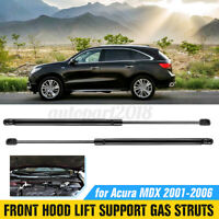 2x Front Hood Lift Support Shock Gas Struts 6332 8196025 For Acura MDX