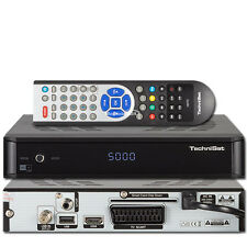TechniSat Satboxx HD + HDTV satellite Receiver 6 Months + Card incl. USB black