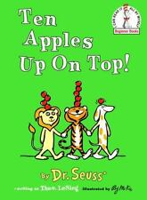 Beginner Books: Ten Apples up on Top! by Dr. Seuss (1961, Hardcover)