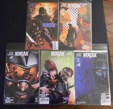 Valiant Comics NINJAK 1 (3rd print) 6AC 7A 8B  NM FREE SHIPPING