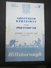 Sheffield Wednesday V Portsmouth   1957/8