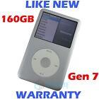 Apple IPOD CLASSIC - 7th Generation - 160GB - Silver - Refurbished like new!