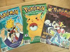 ⭐️ Job Lot X3 Rare Pokemon Comics 1999 Pikachu Bundle Viz ⭐️