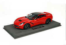 BBR Chevrolet Corvette Stingray avec Vitrine 1/18