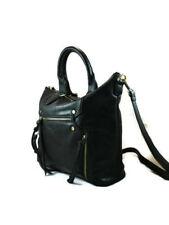ANTIK KRAFT® Multi Pocket, Everyday Crossbody Medium Tote w/ Strap-Black