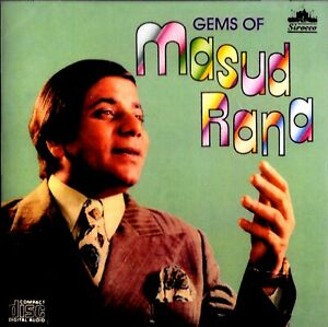 MASOOD RANA - GEMS OF MASOOD RANA - BRAND NEW SIROCCO CD - FREE UK POST