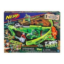 Nerf Zombie Strike Outbreaker Bow 5 Darts 8+ Toy Gun Blaster Boys Play Crossbow