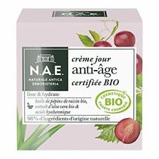 N.A.E. Crème Jour Anti-Âge Visage Certifiée Bio 50 ml Soin Visage Femme