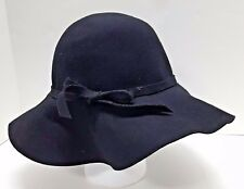 New York and Co Floppy Hat 100% Wool Felt Wide Brim One Size