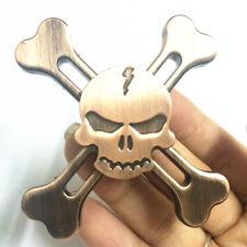 Skull Hand Spinner Finger Spinner Fidget Anxiety Stress Relief Toys For Gift K10