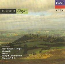 Various - The World Of Elgar (CD 1990) Remastered; Decca 430 094-2