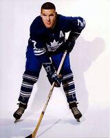 Tim Horton Toronto Maple Leafs Auction 8x10 Photo