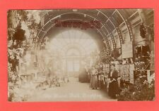 More details for the floral hall brighton postcards on sale rp pc unused f g harwood ref t27
