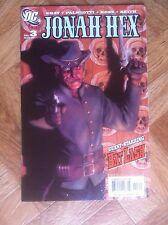 JONAH HEX #3 2006 NEAR MINT (W6)
