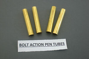 Pack of Four Pen Tubes for the Bolt Action Pens