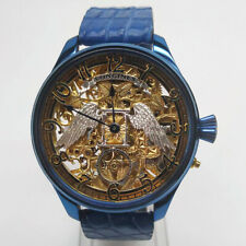 LONGINES Blue Angel Skeleton Classic Elegant Marriage Pocket Watch Movement