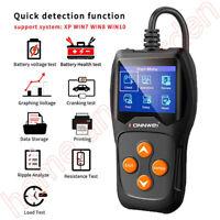 Konnwei KW600 12V Automotive Battery Tester Professional 100-2000 CCA 220AH Car