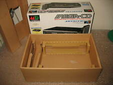 (BOX ONLY) EMPTY BOX+INNER FOR SEGA MEGA CD CONSOLE (BOX ONLY, NO CONSOLE)