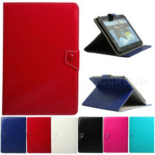 "For Samsung Galaxy Tab 2/3/4/ 7"" 8""10"" Universal Leather Tablet Stand Case Cover"