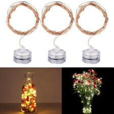 Submersible LED String Fairy Waterproof Light for Vase Wedding Party Tank Decors