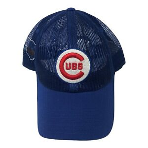 Chicago Cubs American Needle 1918 Blue Mesh Cap Cooperstown Collection MLB Hat