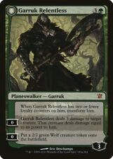 Garruk Relentless / Garruk, the Veil-Cursed Innistrad NM CARD ABUGames