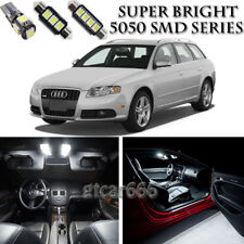 21pcs White LED Interior Lights Package Kit For Audi A4 S4 B6 B7 Sedan 2002-2008