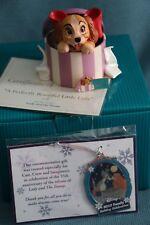 WDCC A Perfectly Beautiful Little Lady, pin, & Disney Cast Member ornament NIB