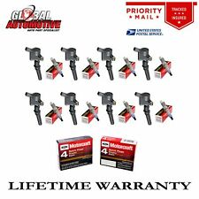 Set of 8 Ignition Coil Dg508 & Motorcraft Spark Plug Sp479 for Ford 4.6L 5.4L