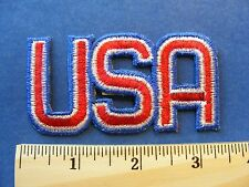 U S A  patch ( letters only, no background)