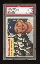 1956 Topps Set Break #135 - Mickey Mantle PSA 6 EX-MT *GMCARDS*