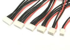JST-XH RC LiPO Balance Charge Cable Silicone 10cm wire plug 1S 2S 3S 4S 5S 6S x6