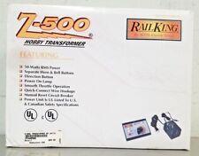 MTH Rail King Z-500 Hobby Model RR Train Transformer 50 Watts RMS Power 40500