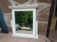 Ivory vanity mirror swivel dressing table mirror Cream