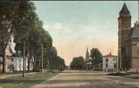 Oxford MA Main St. c1910 Postcard
